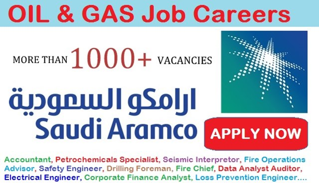 Oil and Gas Jobs in Saudi Aramco Company | Latest Job Careers 2017