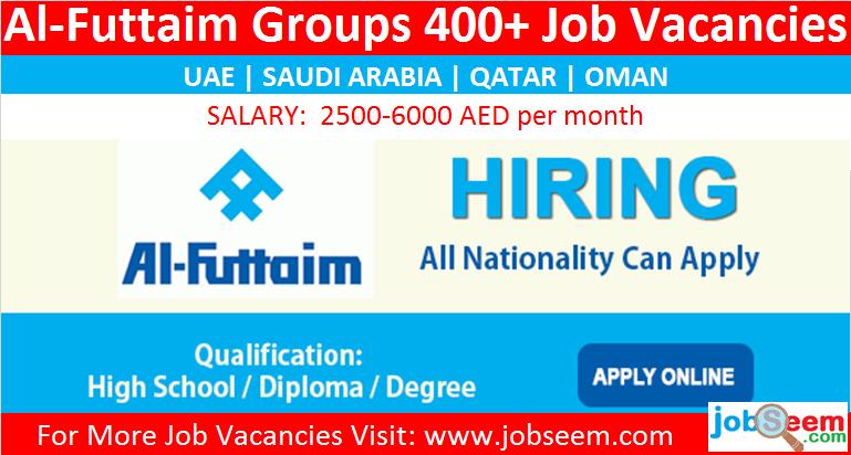 Al Futtaim Careers Hiring, Urgent Recruitment in Multiple Job Vacancies