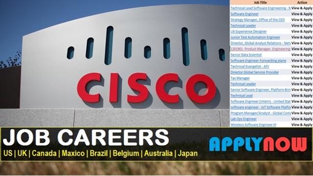 Cisco Job Postings   Recruiting Large Number of Vacancies ...