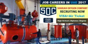JOBS UAE | Sharjah Oxygen Job Careers | Latest Job Vacancy in UAE company