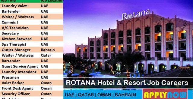ROTANA Hotel & Resort | Gulf Job Careers in UAE, Qatar