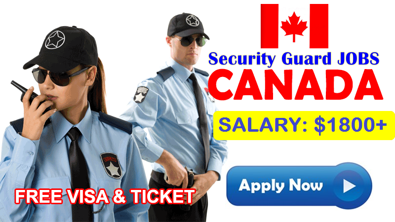 Security Guard Jobs In Canada Apply Now