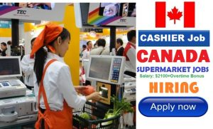 Supermarket CASHIER Jobs in CANADA | Job Vacancies in