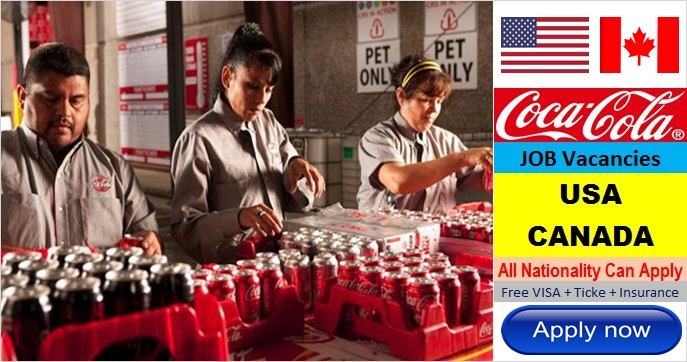 Coca Cola Job Career Vacancies in USA and CANADA 2017