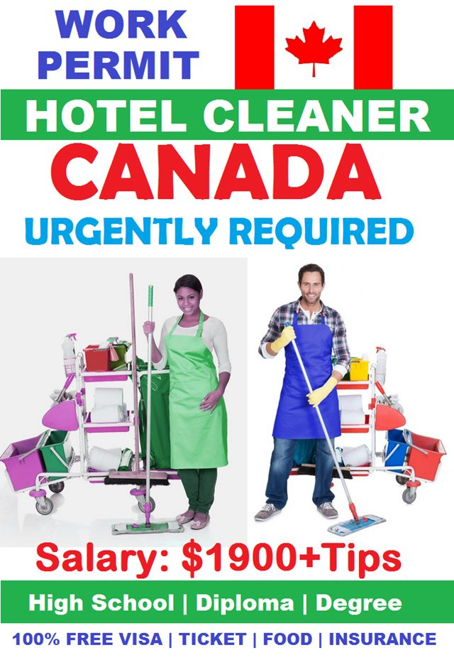 Hotel Cleaning Jobs In Canada For Foreigners Job Postings Canada