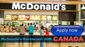 Fast Food Service Attendant Jobs in McDonalds Restaurant CANADA 2018