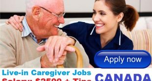 Live-in Caregiver Jobs in CANADA 2018 Apply Now
