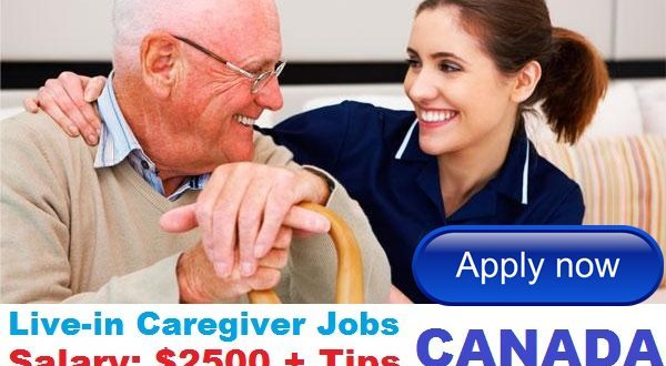 livein caregiver jobs in canada 2018 apply now