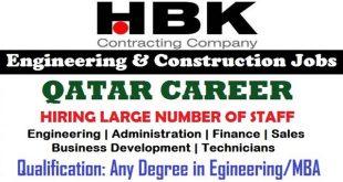 hbk engineering company qatar Archives - Job Careers