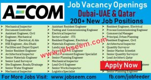 AECOM Jobs Latest Aecom Careers in Dubai-UAE, Qatar AECOM Salaries