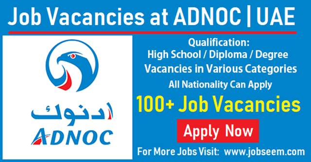 ADNOC Careers and Job Vacancies