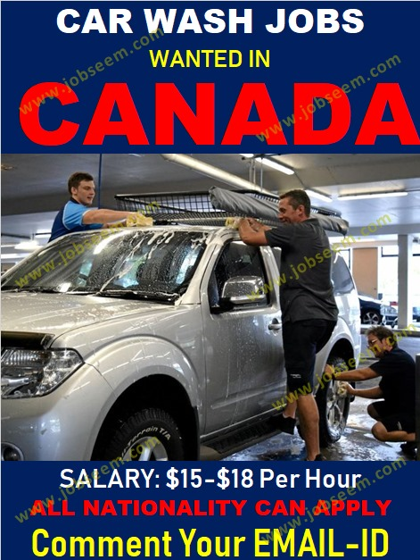 Car Washer Jobs In Canada Urgent Job Vacancy Requirement 2018