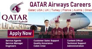 Career in Qatar Airways Recruitment for Qatar Airways Jobs