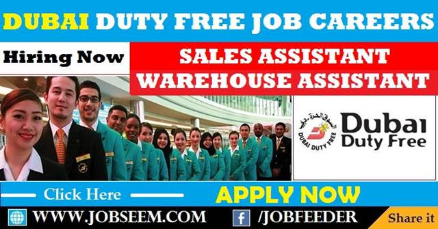 duty free sales assistant job description