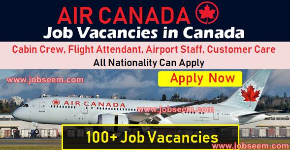 Exciting Air Canada Jobs Careers APPLY NOW