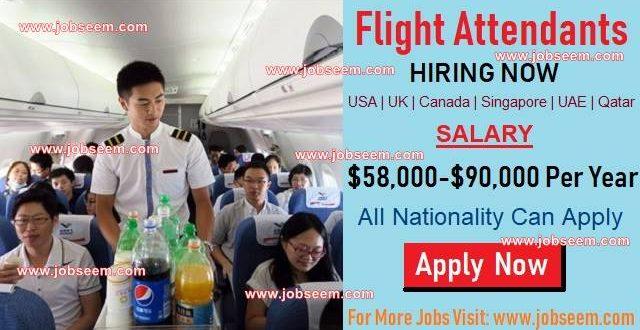 Flight Attendant Jobs Hiring | What is Flight Attendant