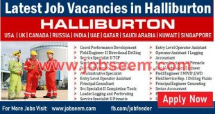 Halliburton Jobs Recruitment for Halliburton Careers USA