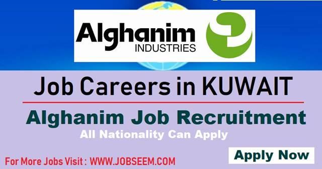 KUWAIT- Alghanim Job Vacancies | Gulf Job Career 2018 - Job Careers