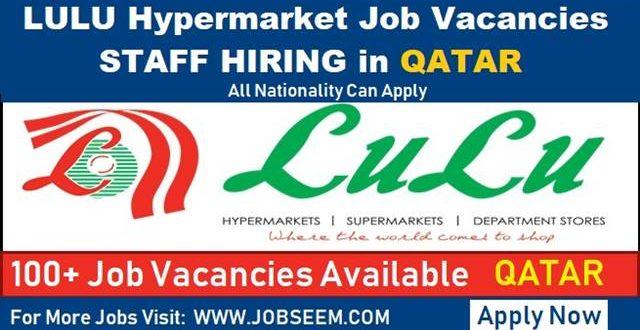 Lulu Hypermarket Jobs In Qatar Lulu Job Careers Vacancy