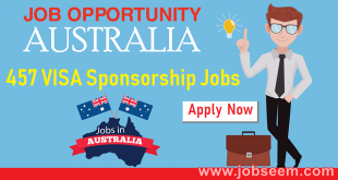 Latest 457 VISA Job List in Australia 457 VISA Sponsorship Job Offers Available Company in Australia July 2018