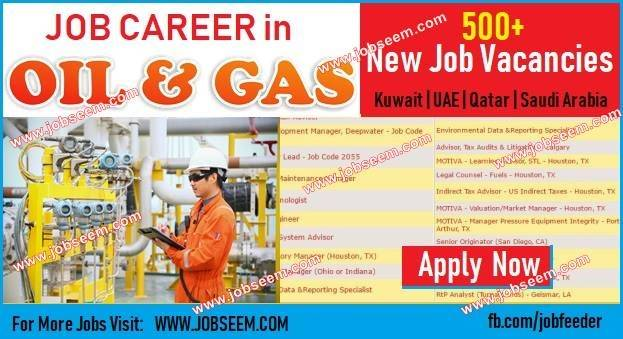 Oil and Gas Jobs | Offshore Jobs Recruitment in Kuwait-Qatar-UAE