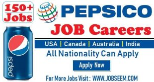 PepsiCo Careers Job Vacancy Recruitment in PEPSI Company 2018 USA-Canada-Australia-India