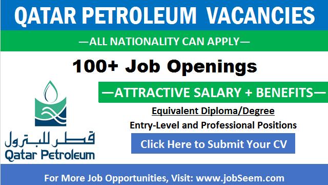 Qatar Petroleum Careers QP Oil and Gas Jobs in Qatar