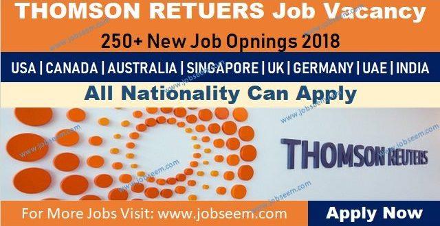 Thomson Reuters Careers | Jobs Vacancy Recruitment - Job Careers