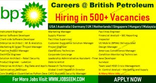 British Petroleum Jobs BP Careers Urgent Recruitment 2018 Apply Now