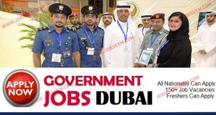 Government Jobs in Dubai UAE Sales, Marketing Jobs in Dubai 2018
