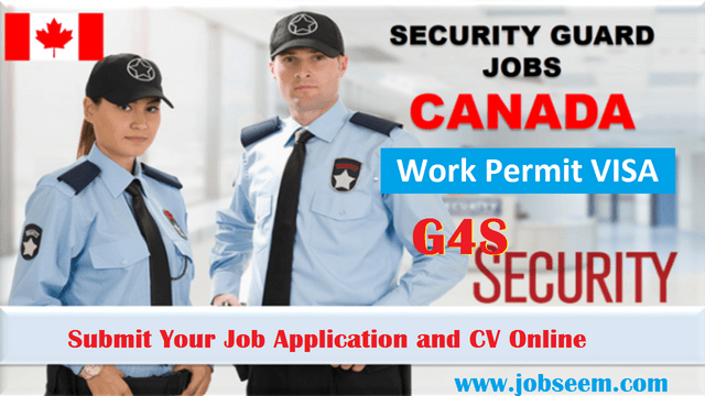 Security Guard Jobs in Canada for Foreigners