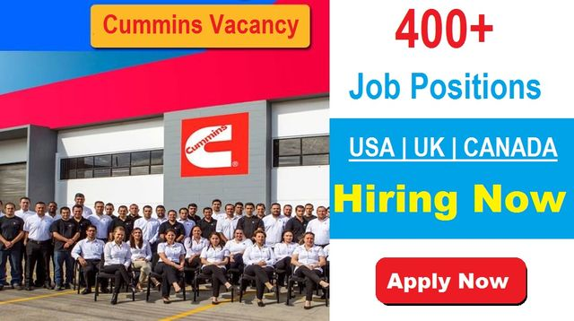 Cummins Jobs Recruitment Latest Career Vacancy Openings in USA-UK-Canada