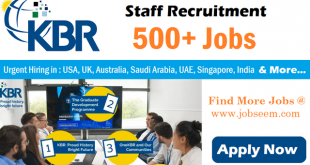 KBR Jobs Opening in US Australia Iraq Kuwait UAE Saudi Arabia Overseas Career Recruitment 2020