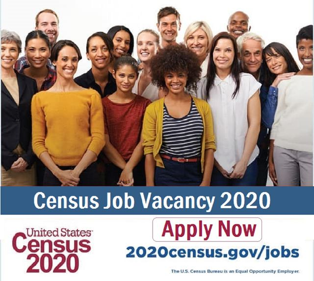 US Census Jobs 2020 Hiring in Multiple Career Vacancy Openings and Recruitment