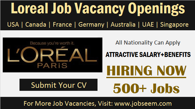 Loreal Careers Recruitment Latest job Vacancies and Hiring Staff