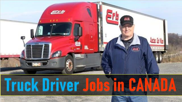 Truck Driver Jobs in Canada for Foreigners