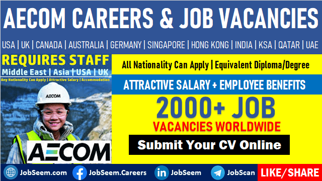 AECOM Careers and Job Vacancies Worldwide Openings