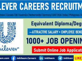 Unilever Careers Recruitment Latest Employment and Job Vacancy Openings
