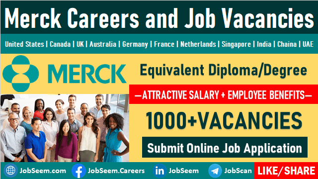 Merck Job Openings and Staff Recruitment Merck KGAA Careers Vacancy