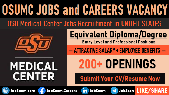 OSUMC Jobs Opening OSU Medical Center Careers Recruitment and Employment