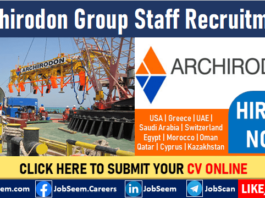 Archirodon Construction Careers Worldwide Recruitment Hiring Staff in Multiple Job Vacancies