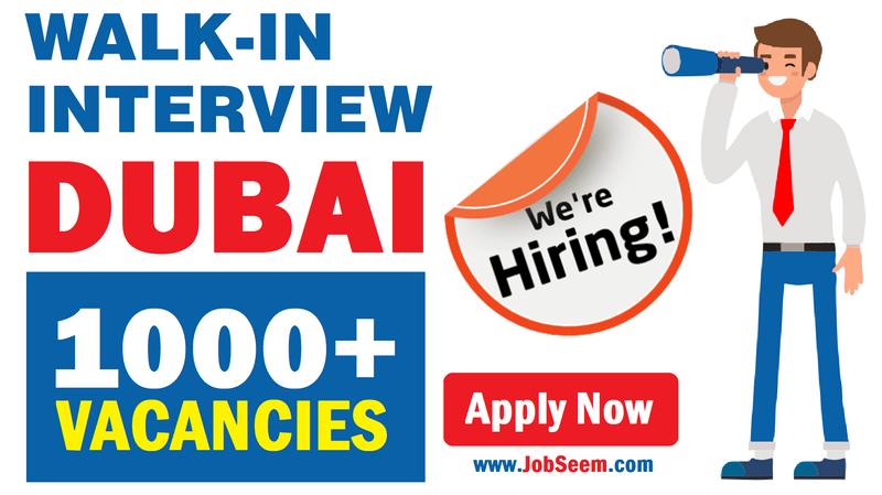 1000 Walk In Interview Jobs In Dubai Uae Tomorrow December 2020
