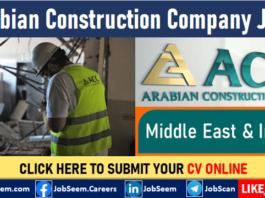 Arabian Construction Co. LLC Careers ACC Job Vacancies and Staff Recruitment