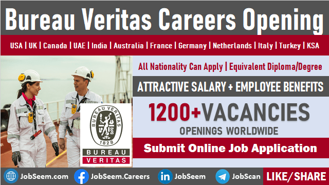 Bureau Veritas Job Openings and Recruitment Consumer Products Services Careers Vacancy