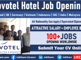 Novotel Hotel Job Vacancies Multiple Novotel Careers Opening and Staff Recruitment