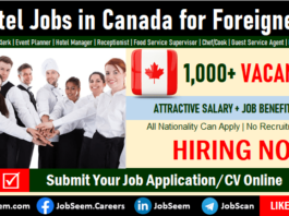 Hotel Jobs in Canada for Foreigners with Visa Sponsorship Hotel, Resort and Hospitality Vacancies