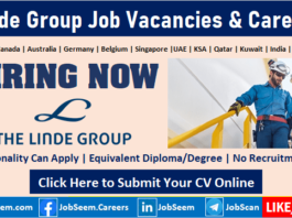 Linde Careers Recruitment The Linde Group Job Vacancy Openings Worldwide